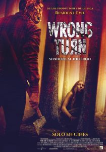 """Poster for the movie """"Wrong Turn. Sendero al infierno"""""""