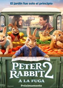 """Poster for the movie """"Peter Rabbit 2: A la fuga"""""""