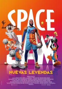 """Poster for the movie """"Space Jam: Nuevas leyendas"""""""