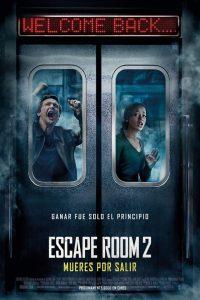 "Poster for the movie ""Escape Room 2: Mueres por salir"""