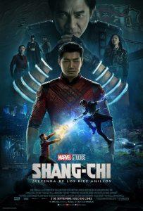 """Poster for the movie """"Shang-Chi y la leyenda de los Diez Anillos"""""""