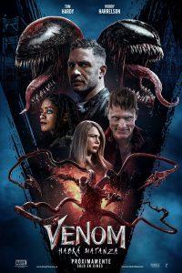 "Poster for the movie ""Venom: Habrá Matanza"""