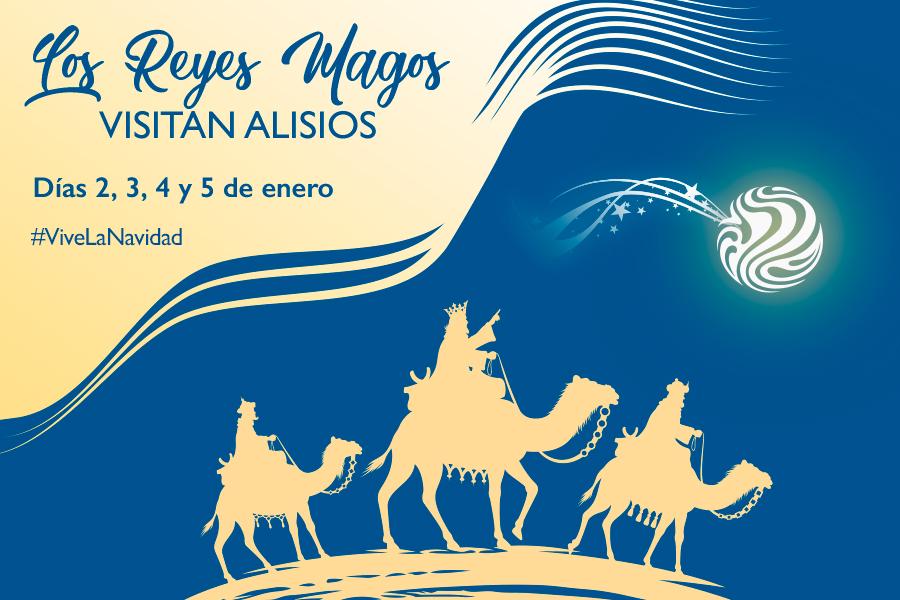 Los Reyes Magos visitan Alisios