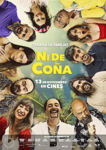 "Poster for the movie ""Ni de coña"""