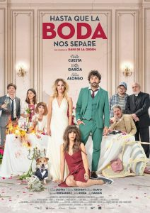 "Poster for the movie ""Hasta que la boda nos separe"""
