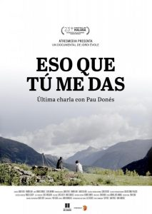 "Poster for the movie ""Eso que tú me das"""
